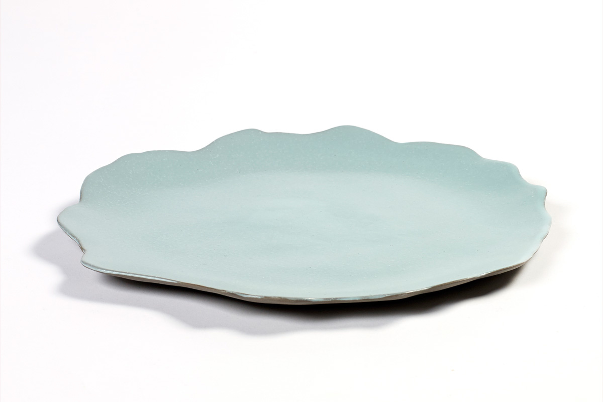 Plate - Seafoam Blue-1