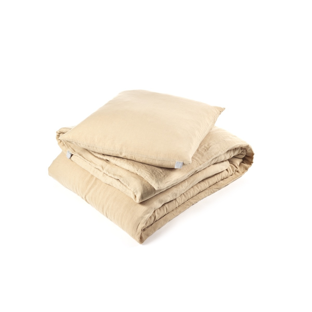 Pillowcase Sham King - Memphis - Camel-1