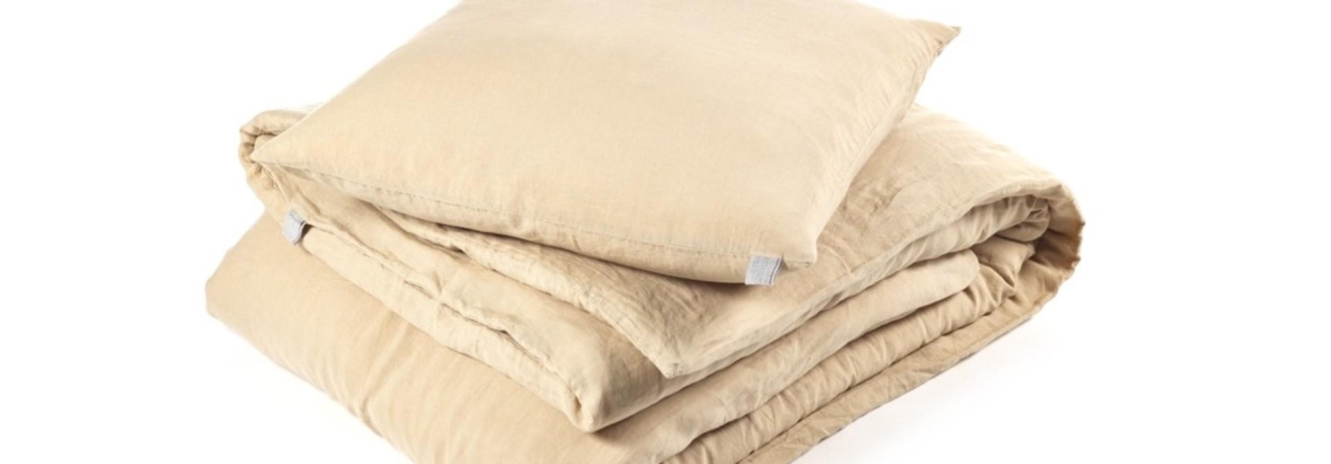 Pillowcase  Queen - Memphis - Camel