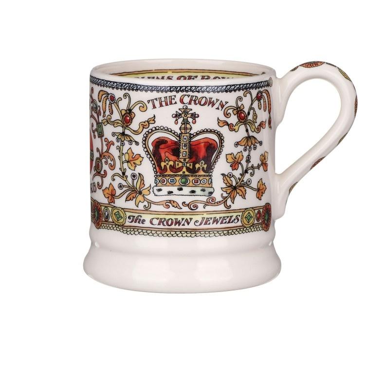 The Crown  - 1/2 Pint Mug-1