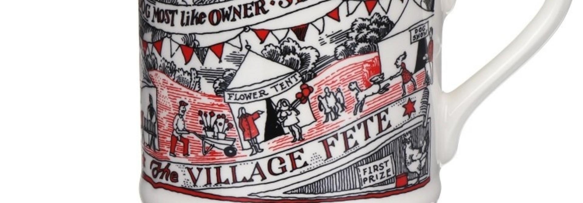 Village Fete - 1/2 Pint Mug