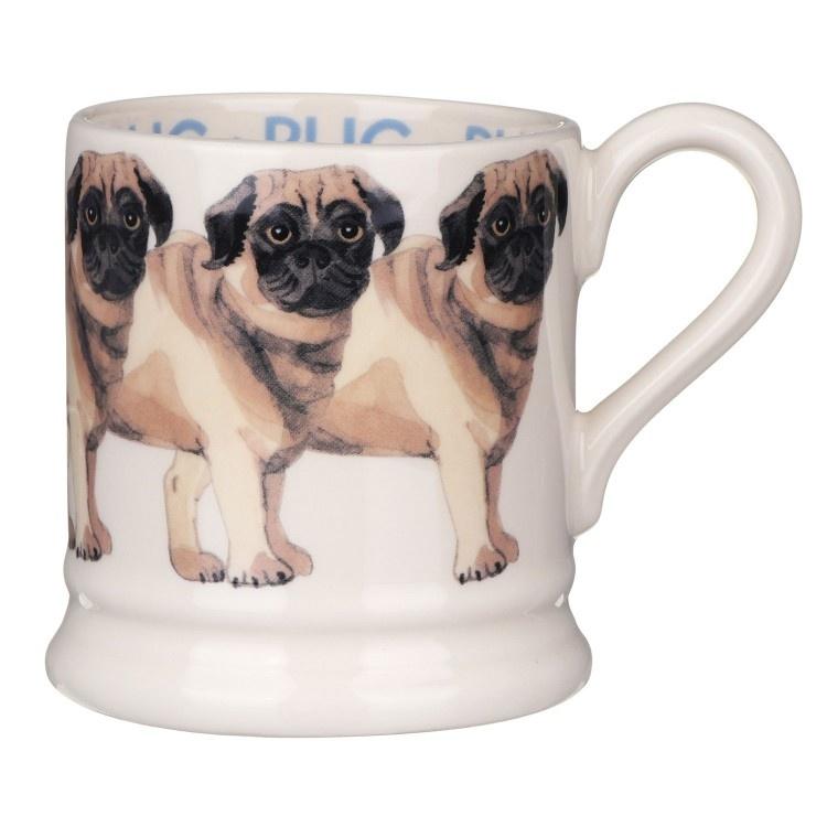Pug - 1/2 Pint Mug-1