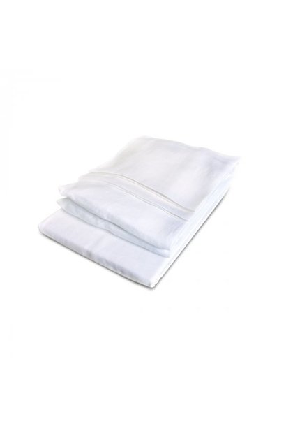 Fitted Sheet King - California - White