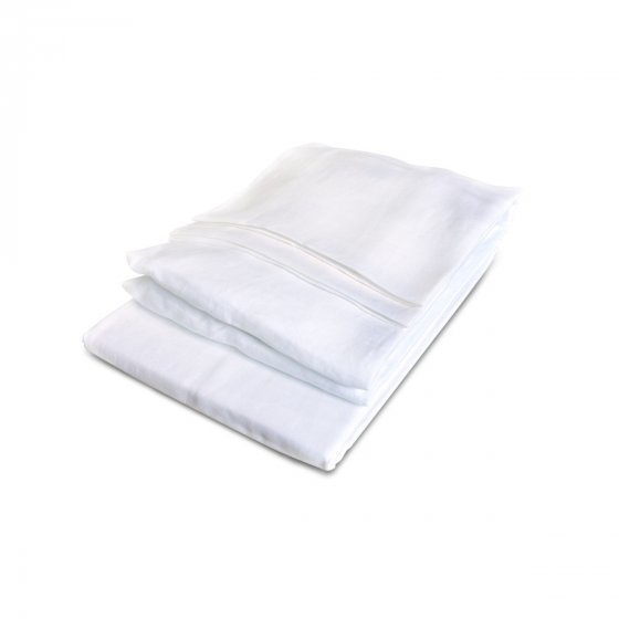 Fitted Sheet King - California - White-1
