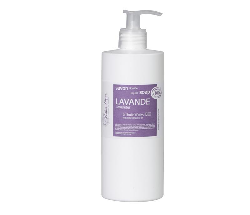 Organic Liquid Soap - Lavender-1