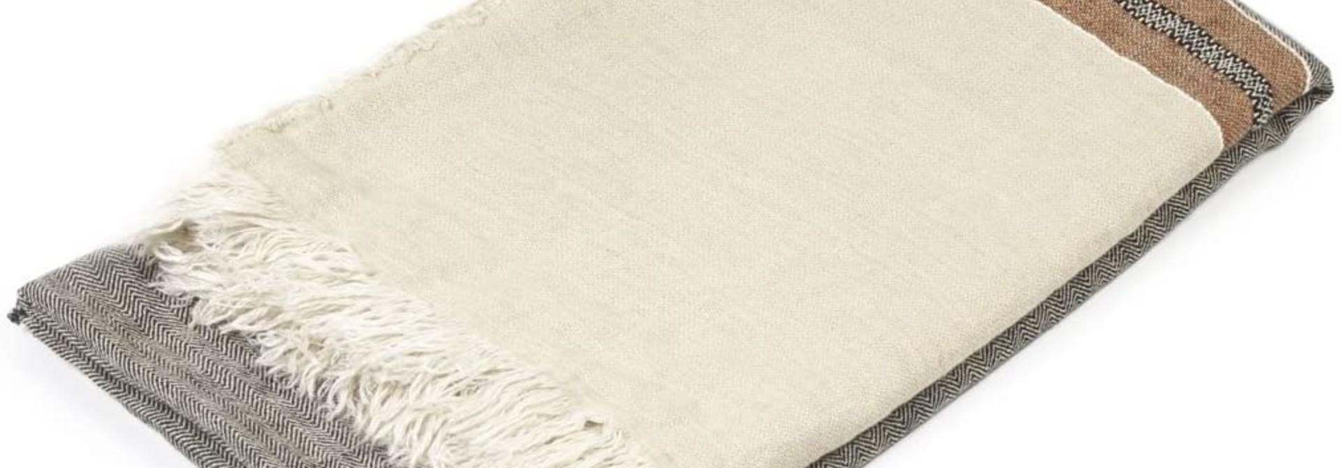 Bath Towel Fouta - Beeswax