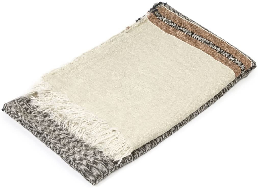 Bath Towel Fouta - Beeswax-1