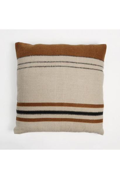 Cushion Cover Foundry - Beeswax Stripe