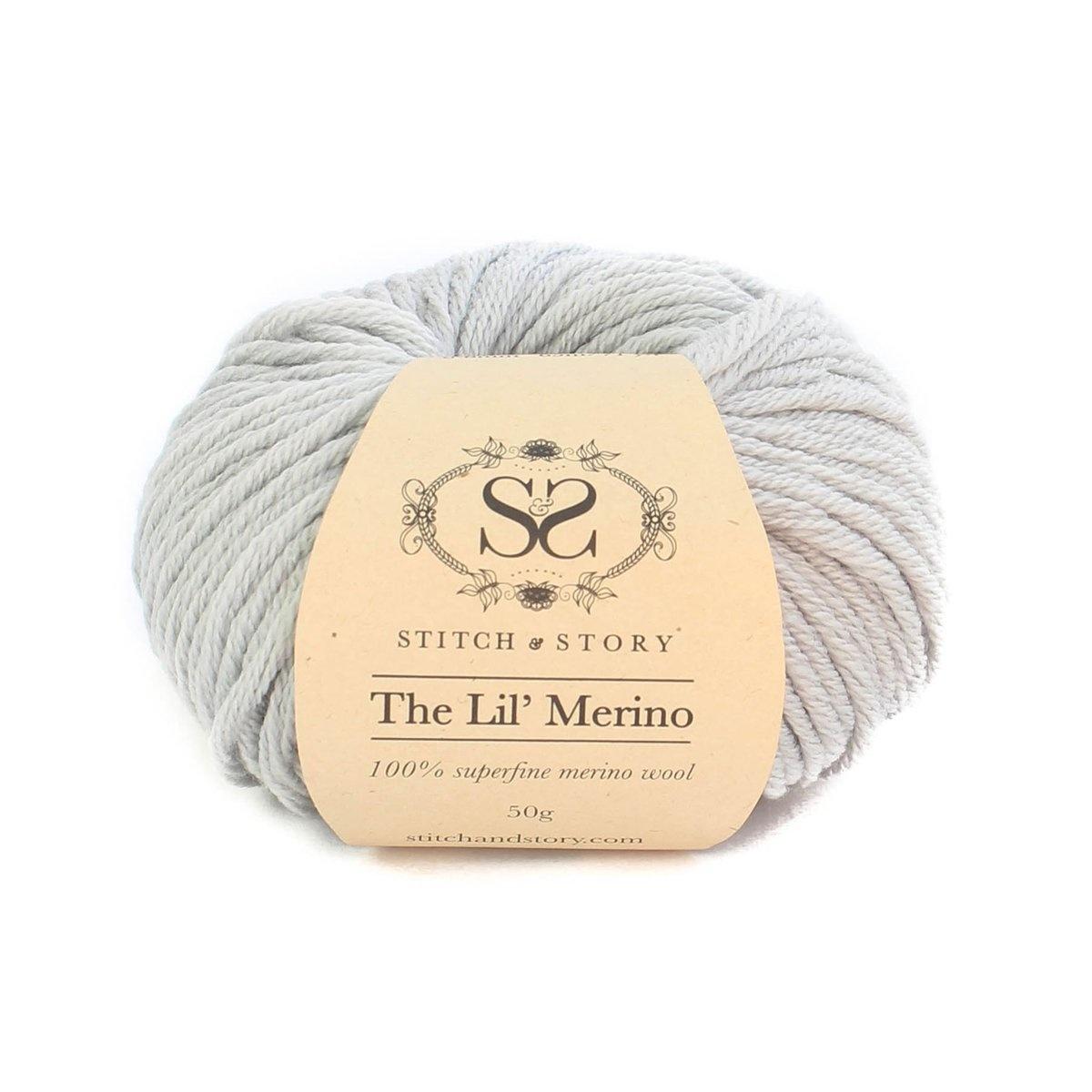 Booties Knitting Kit - Dove-1