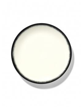 Plate - Off wh. w/blk - B4019317- Var. 3-1