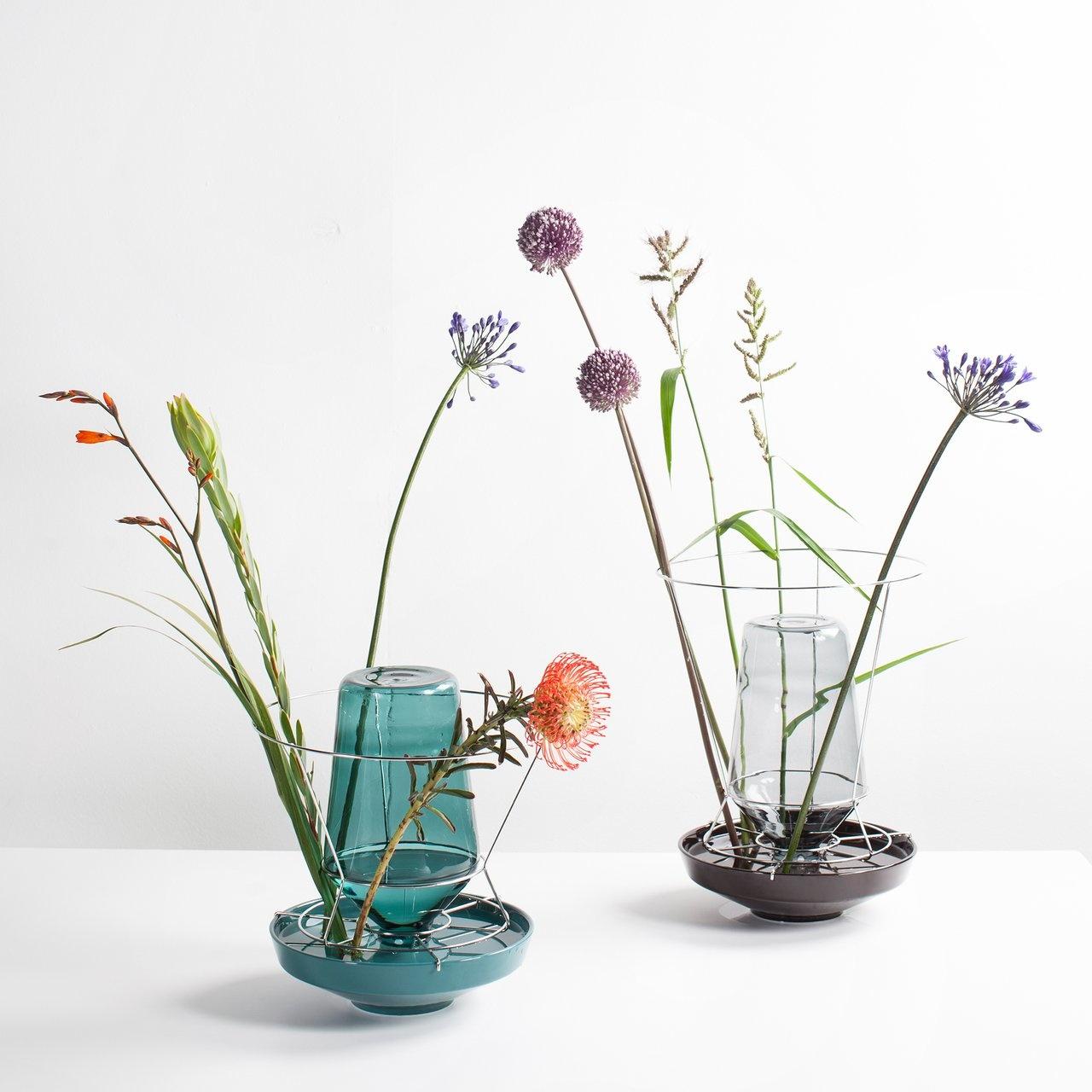Hidden Vase - Teal-1