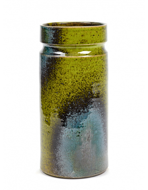 Vase B7618228 - Green Blue Sixties-1