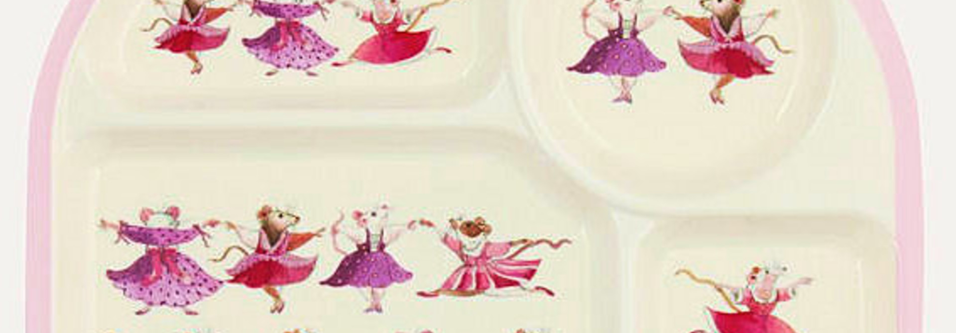 Kid's Dancing Mice Meal Tray