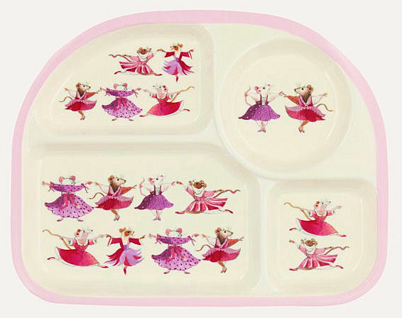 Kid's Dancing Mice Meal Tray-1