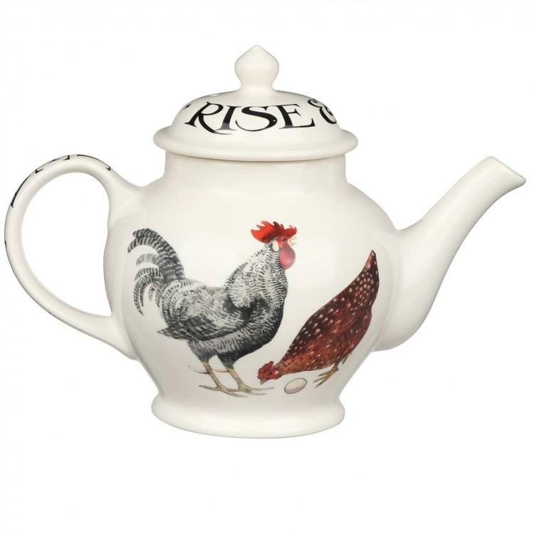 Teapot - 3 Mug - Rise & Shine-1