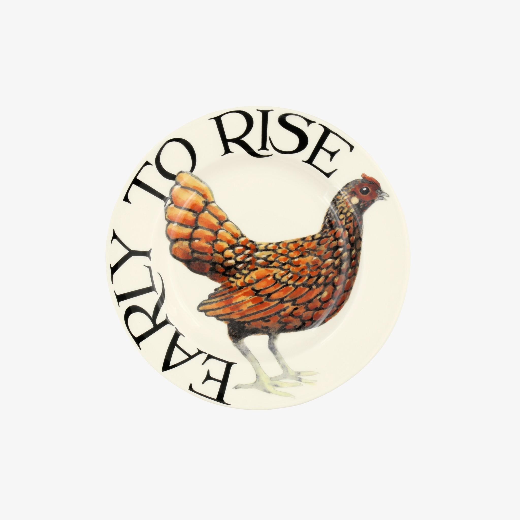 Plate - Rise & Shine-1
