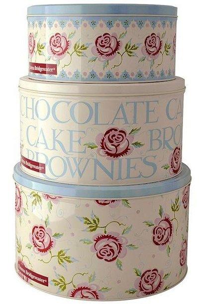 Rose & Bee Cake Tins 3pc. Set