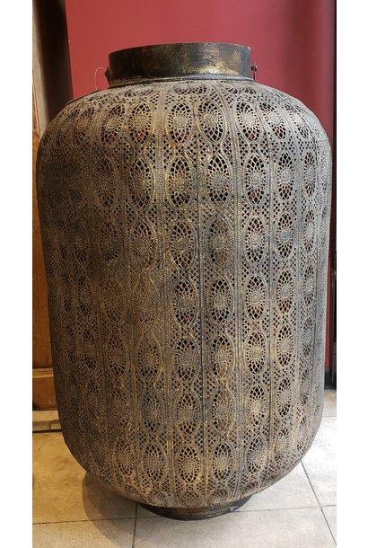 Lantern - Ornamental - Blk/Gold - XLge