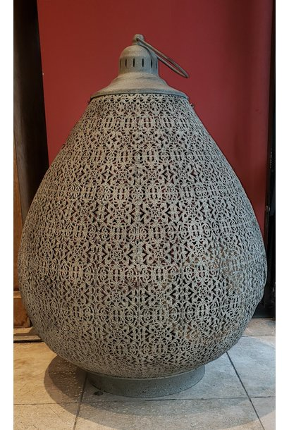 Lantern - Oriental - Grey - Lge
