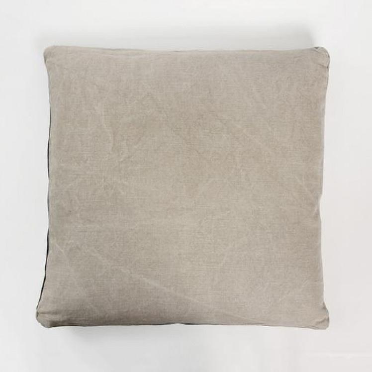 Cushion James - Flax-1