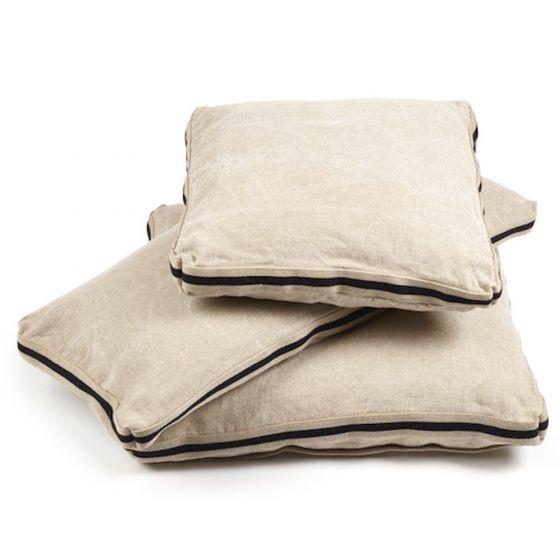 Cushion James - Flax-2
