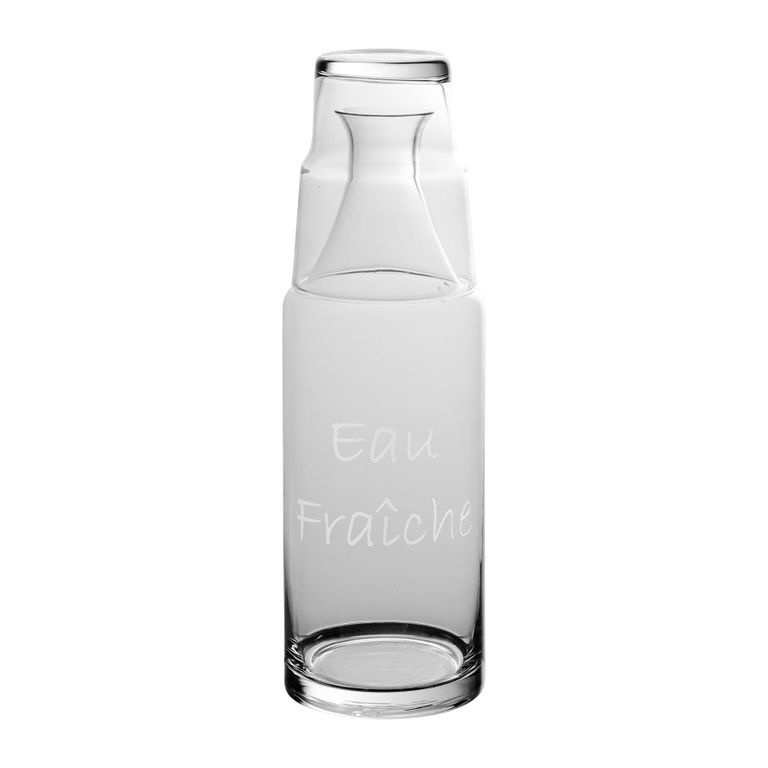 Carafe Papille - w/water glass/lid-1
