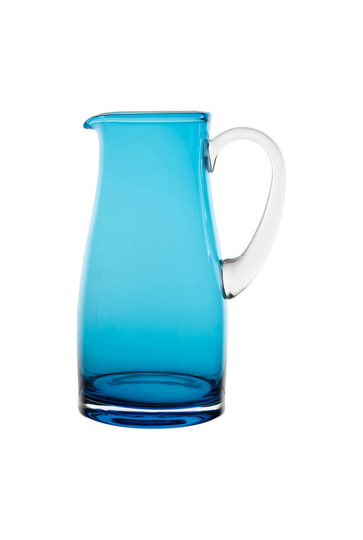 Glass Jug - Turq
