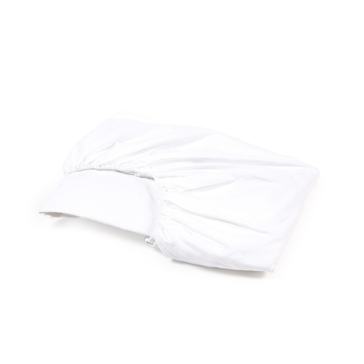 Fitted Sheet - California - Queen - Optic White-1