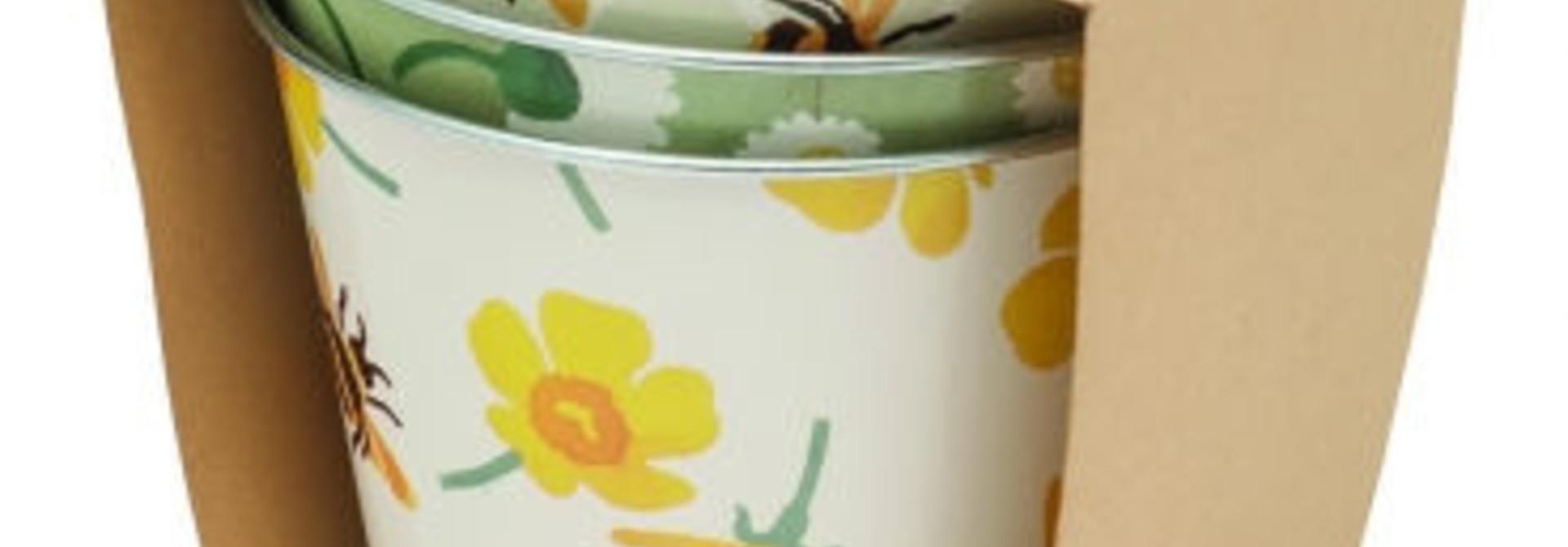 Plant Pots - Buttercup - Tin