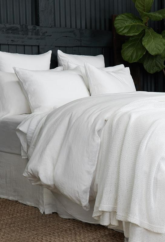 Duvet Cover - King - White-2
