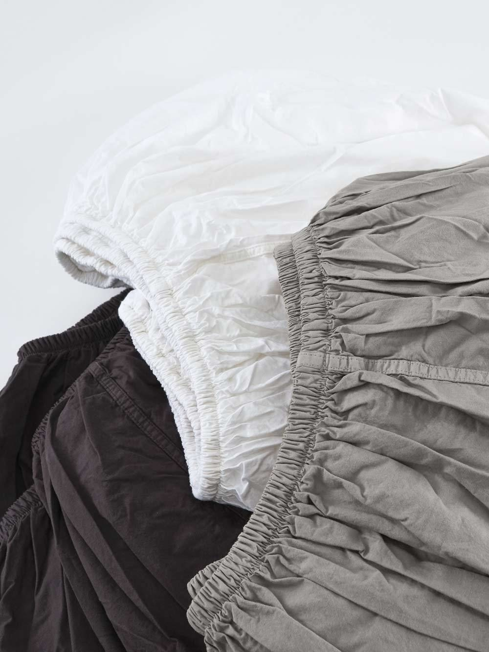 Fitted Sheet - Queen- White-2