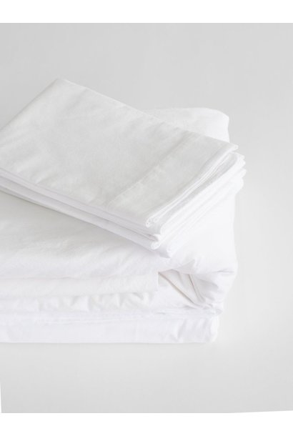 Fitted Sheet - Queen- White