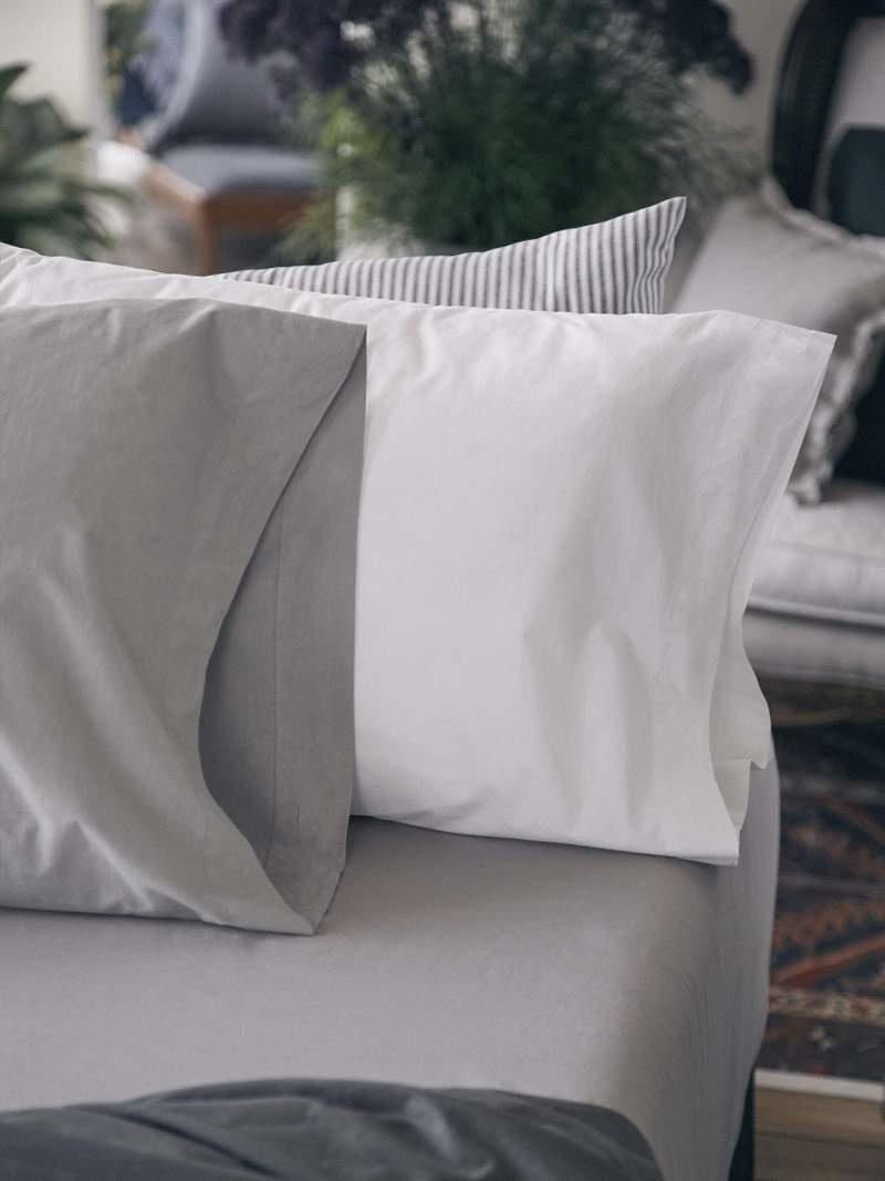 Pillow Case - Queen - White-2
