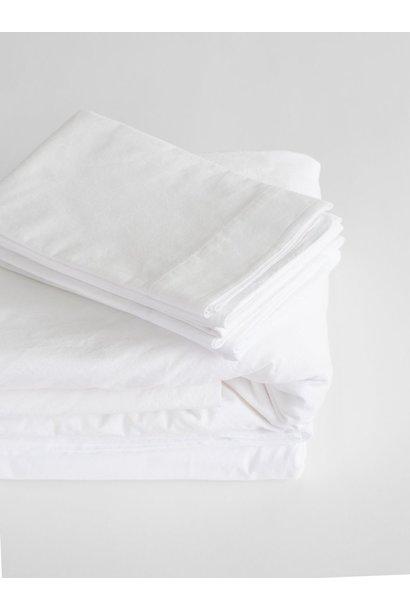 Pillow Case - Queen - White