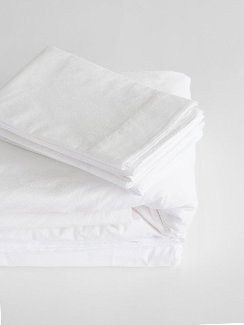 Pillow Case - Queen - White-1