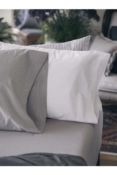 Pillow Case - King - White