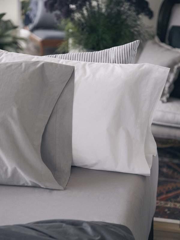Pillow Case - King - White-1