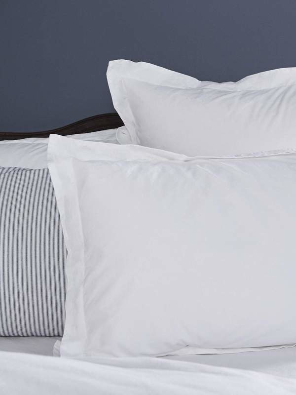 Pillow Sham - Queen - White-1