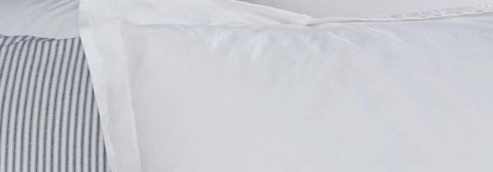 Pillow Sham - King - White
