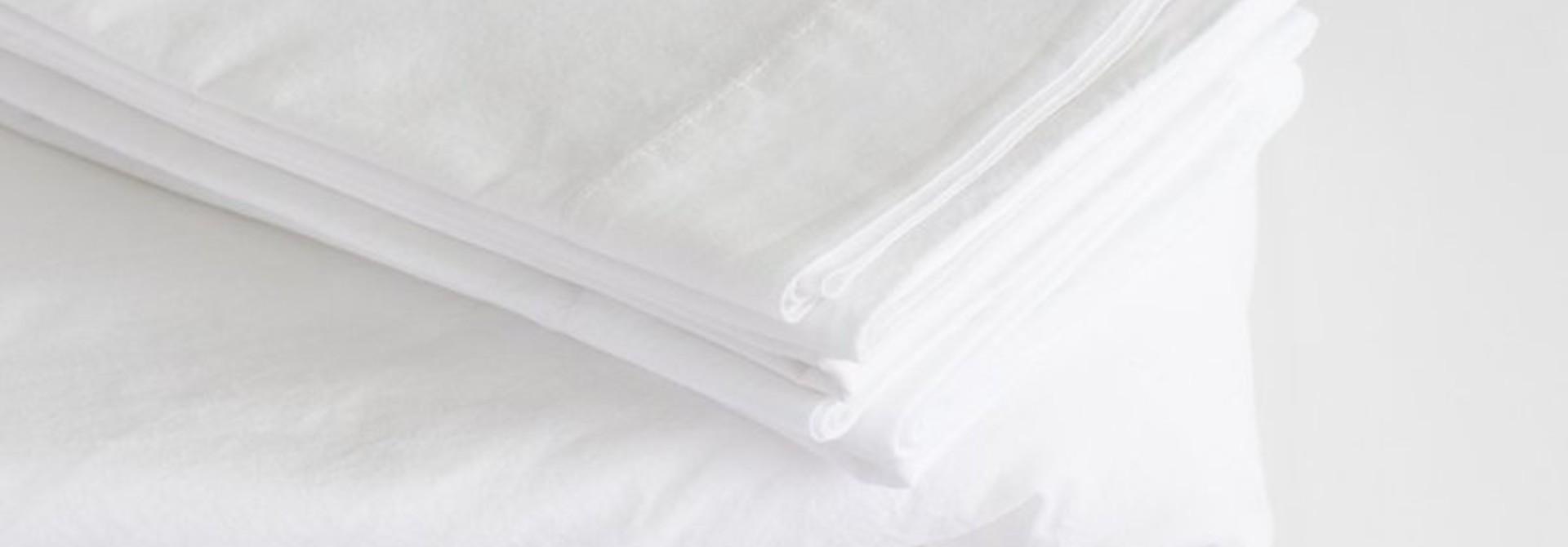Flat Sheet - Queen - White