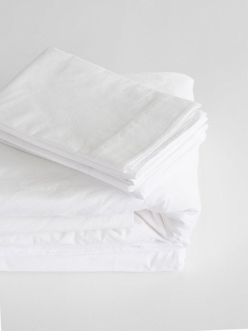 Flat Sheet - Queen - White-1