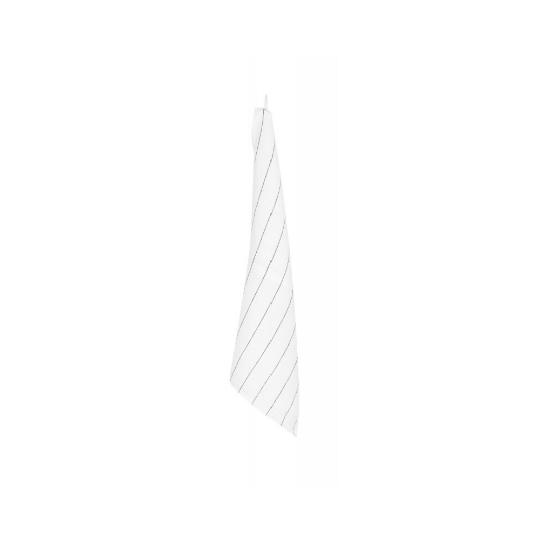 Tea Towel - Calvi - wh/blk-1