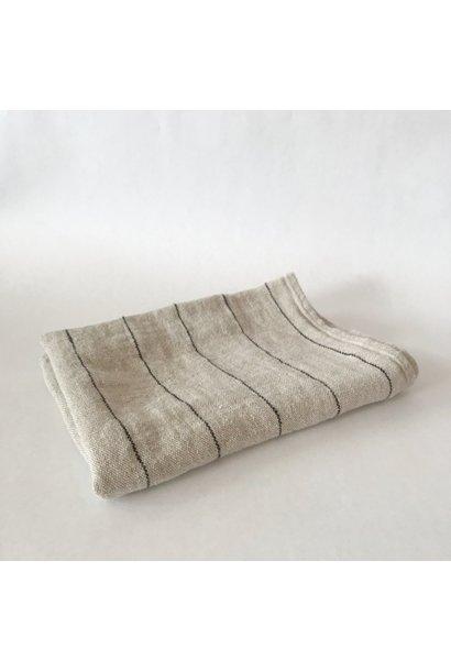 Tea Towel - Calvi - Nat/blk