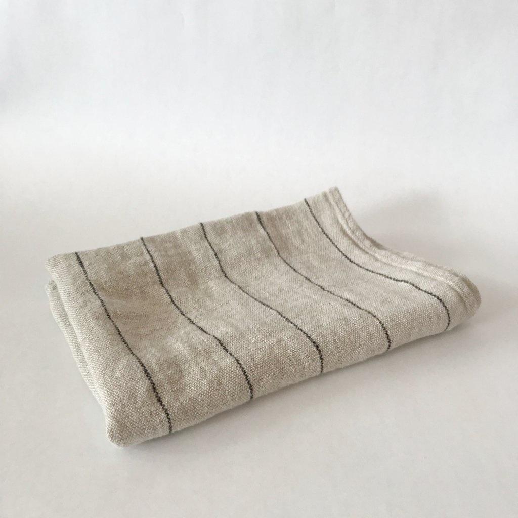 Tea Towel - Calvi - Nat/blk-2