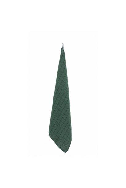 Tea Towel - Chieti - Dk Green