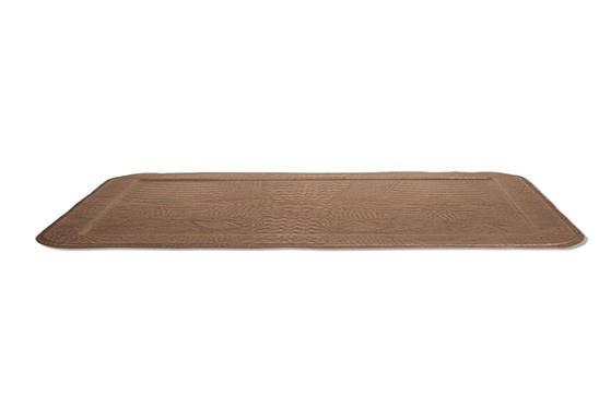 Serving Tray - Leather - Tan-1