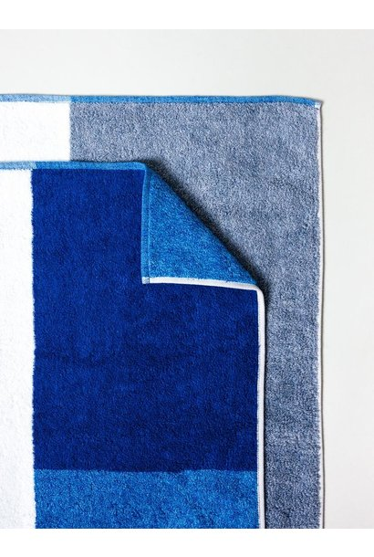 Bath Towel - Piet - Blue