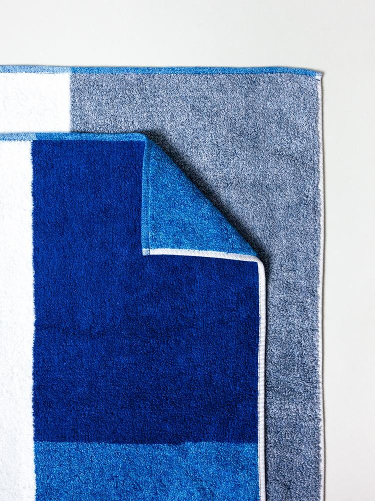 Bath Towel - Piet - Blue-1