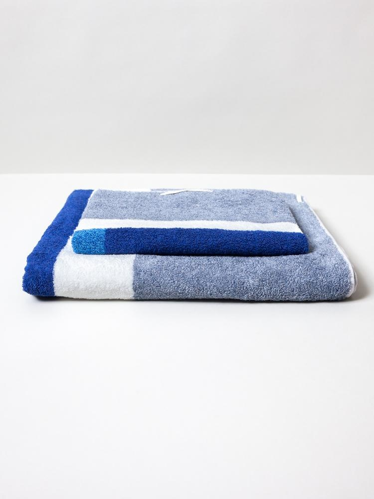 Bath Towel - Piet - Blue-2