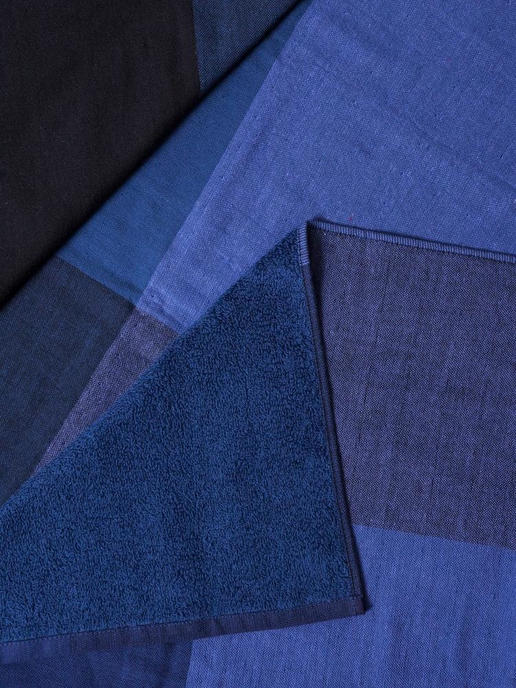 Hand Towel - Chambray - Bl/Blk-2